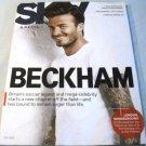 Delta SKY Magazine July 2013 David Beckham on cover