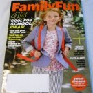 Family Fun Magazine September 2013 - 45 Cool for School Ideas, Better Bedtimes tips