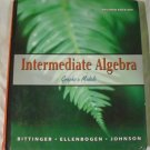 Intermediate Algebra: Graphs & Models (2nd Ed) [Hardcover] M. Bittinger, D. Ellenbogen, B. Johnson