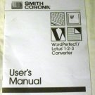 Smith Corona Owner's Manual Paperback – 1991 by Smith Corona