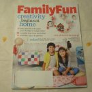 Family Fun Magazine October 2013 - Creativity Begins at Home