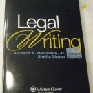 Legal Writing, 2nd Edition (Aspen Coursebook Series) by Richard K. Neumann (Mar 7, 2011)