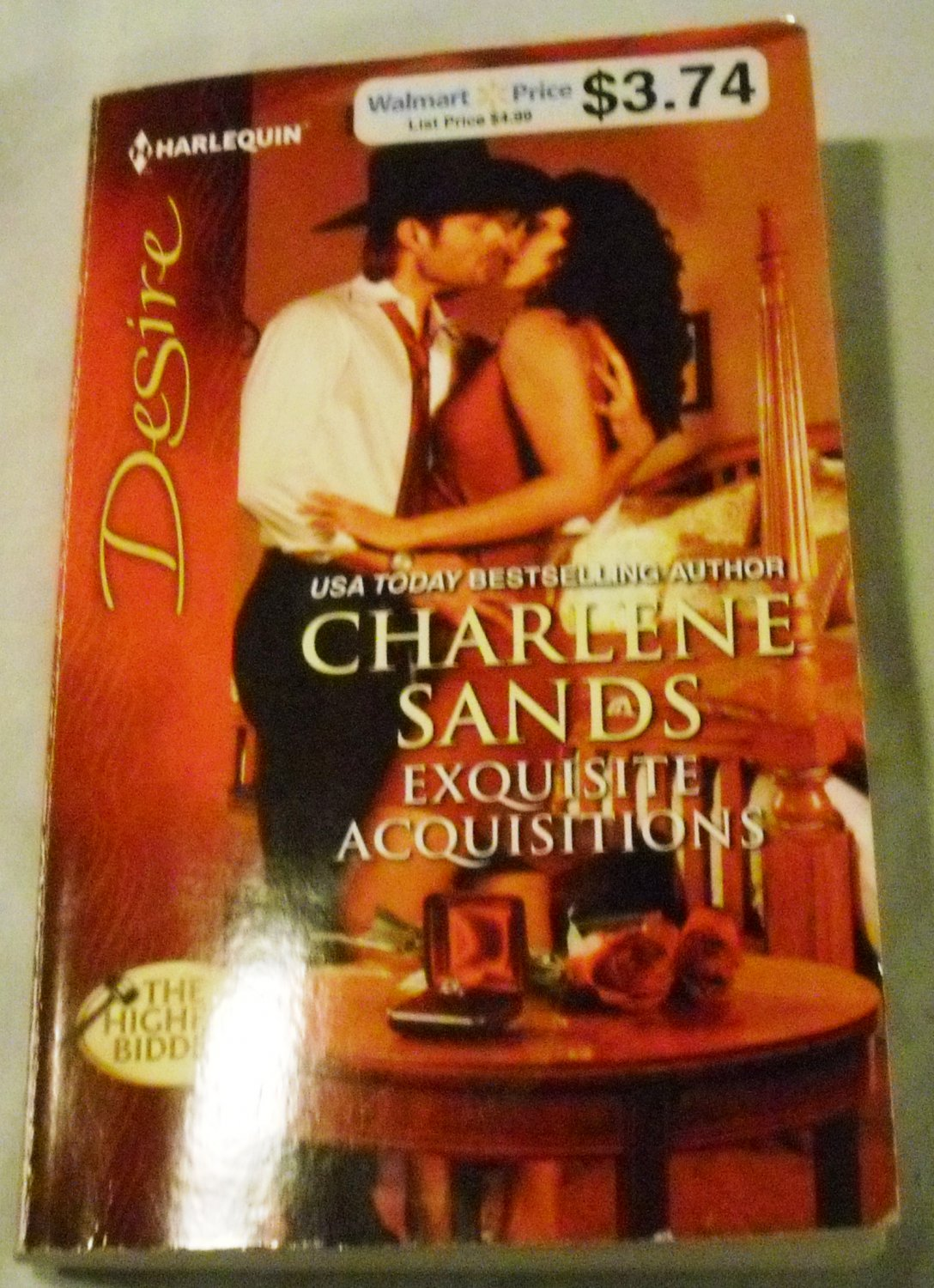 Exquisite Acquisitions (Harlequin Desire) by Charlene Sands (Aug 7, 2012)
