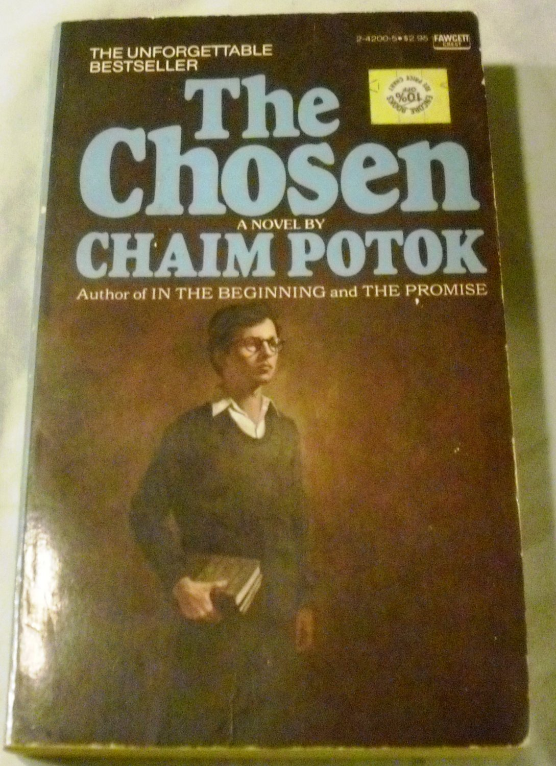 a review of the chosen by chaim potok Los angeles theater review: the chosen (fountain) this makes the journey into the world of aaron posner and chaim potok's the chosen that much more satisfying.