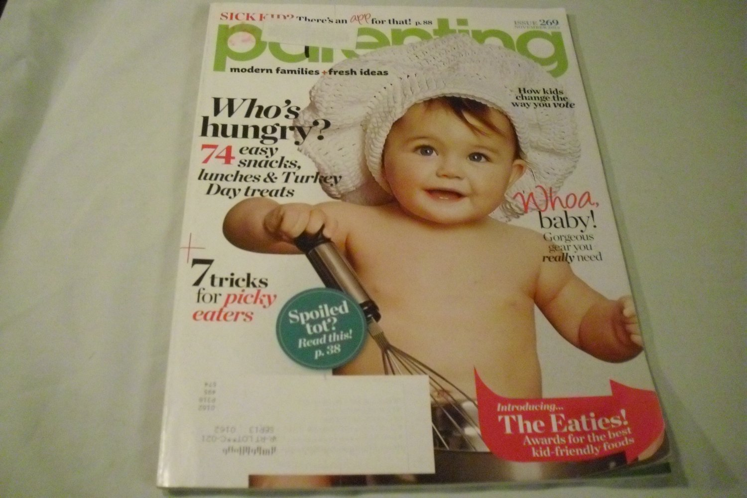 Parenting Magazine November 2012  Who's Hungry?