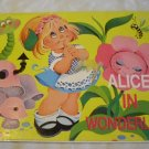 Alice in Wonderland [Paperback] Pop-up book by Brown Watson