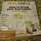Real Simple Magazine (Start Fresh this year, January 2012)