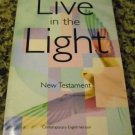 Live in the Light New Testament-Cev by American Bible Society (Feb 1, 2002)