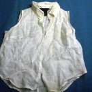 Women's Express White Blouse, Shirt, Top, Size 1/2