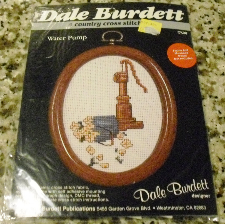 *New* Dale Burdett Water Pump Cross Stitch