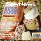 Sew News Magazine - March 2003 - Choosing the Right Fabric, Mini Ruffles Made Easy by Editors (2003)