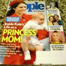 People Magazine April 21, 2014 Kate's life As Princess Mom