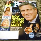 People Magazine How George Met His Match May 12 2014