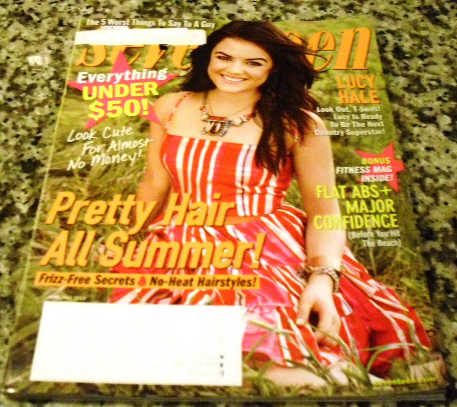 Seventeen Magazine June/ July 2013 - Lucy Hale