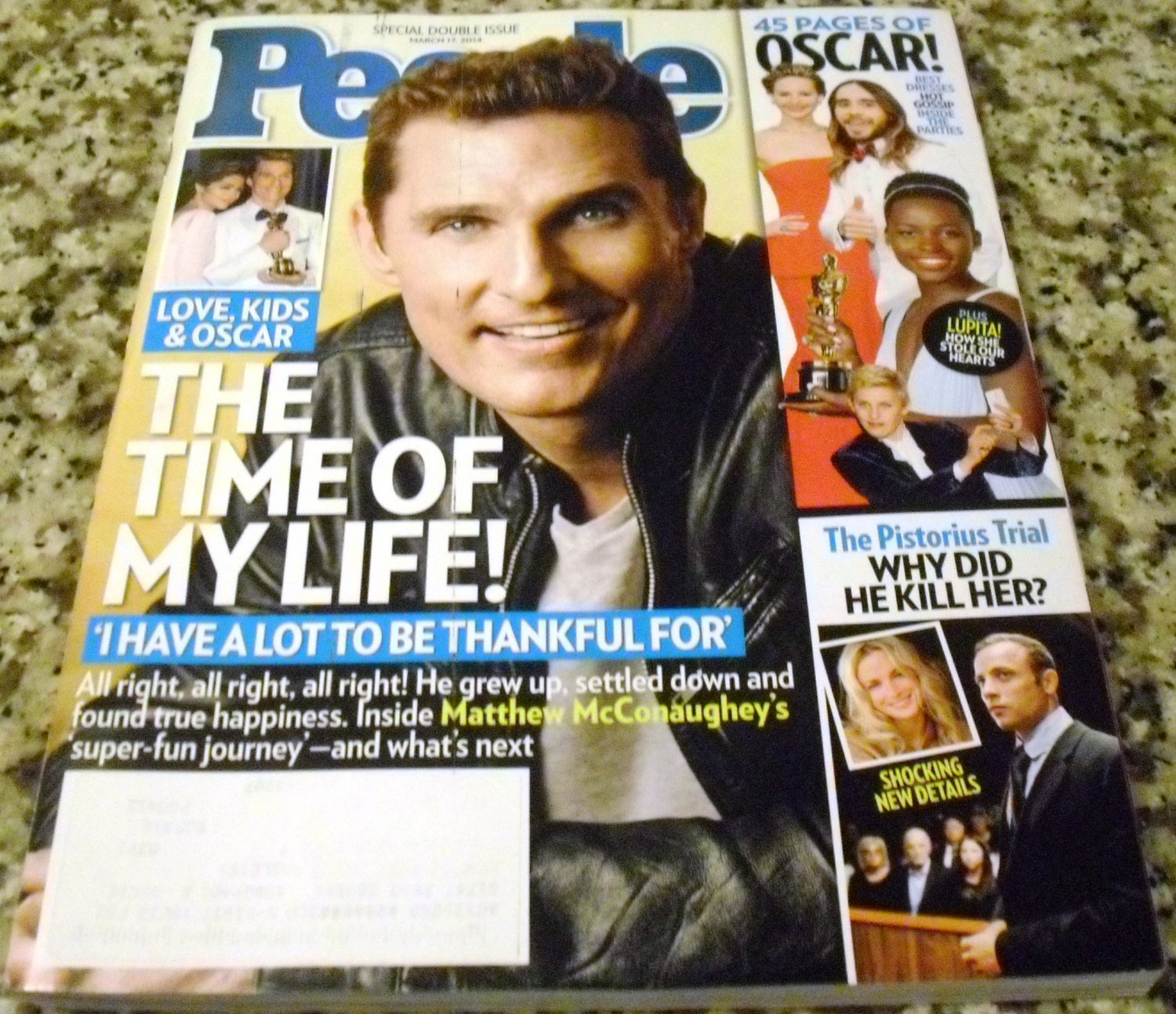 PEOPLE Magazine March 17, 2014 The Time of My Life!