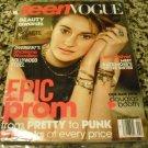 Teen Vogue Magazine April 2014 - Divergent's Shailene Woodley on Cover - Meet Kate Moss's
