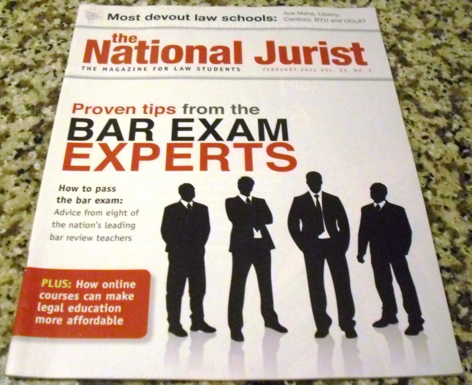 The National Jurist, February 2014, Vol. 23, No. 5