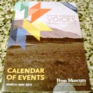 Penn Museum Calendar of Events March-May 2014 Native American Voices