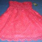 Lilly Pulitzer Pop Pink Payton dress Size 0. Savvy Floral Style 68413