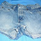 WOMENS OLD NAVY BLUE JEAN DENIM SHORTS SHORT SIZE 2 REGULAR