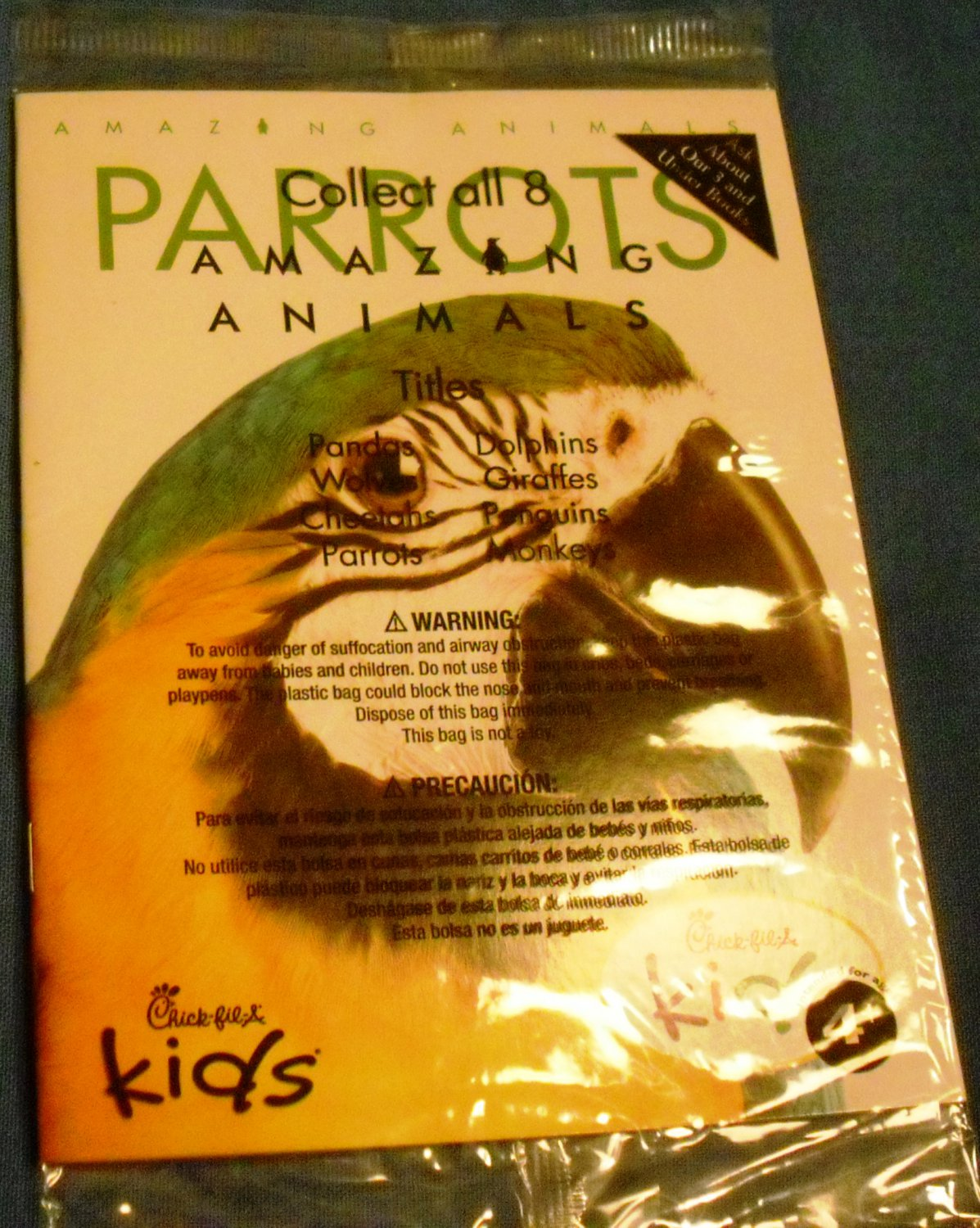 2014 Chick-fil-A Kids Meal Toy - Parrots