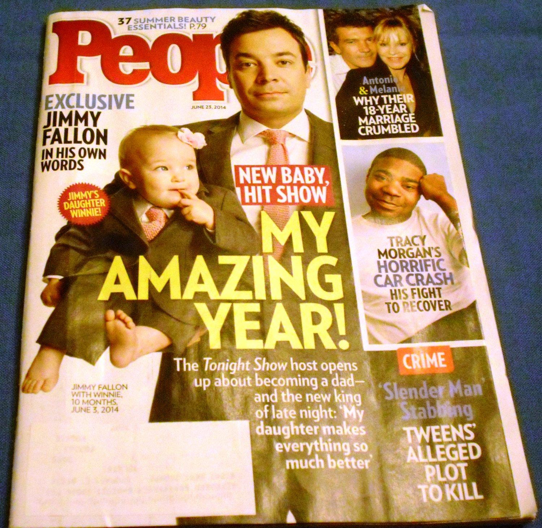 People Magazine June 23, 2014  Jimmy Fallon My Amazing Year!
