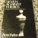 Seven Against Thebes  by Aeschylus, Bacon & Hecht (1991)