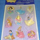 Disney Classic Princess Stickers 4 Sheets