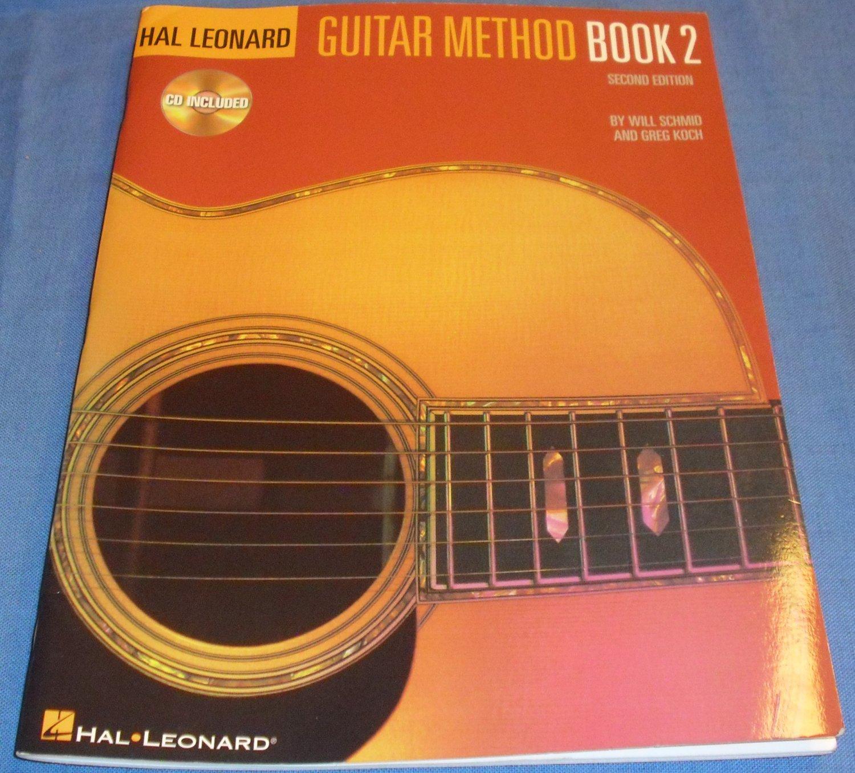 Hal Leonard Guitar Method Book 2: Book/CD Pack by Will Schmid and Greg Koch (Jan 1, 2000)