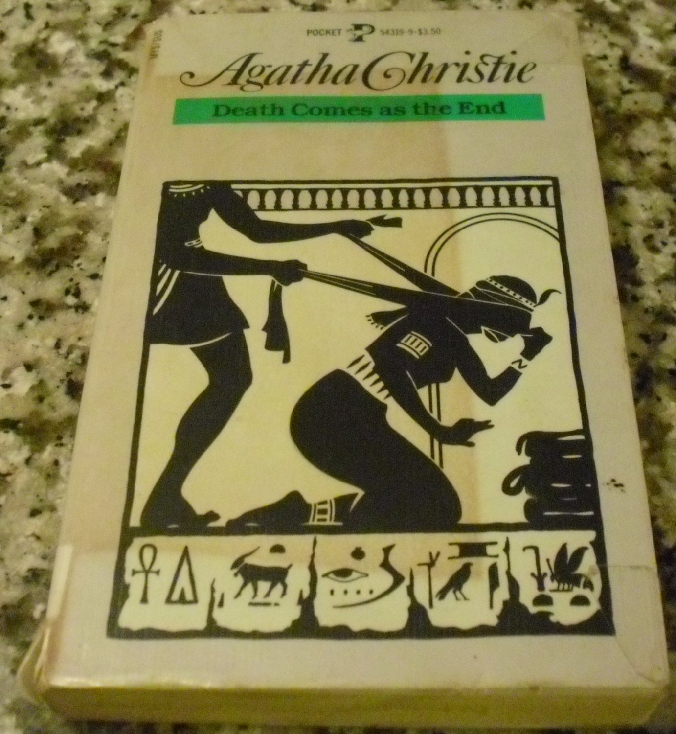 Death Comes As the End by Agatha Christie (Nov 2, 1984)