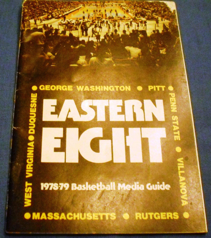 1978-79 EASTERN ATHLETIC ASSOCIATION BASKETBALL MEDIA GUIDE