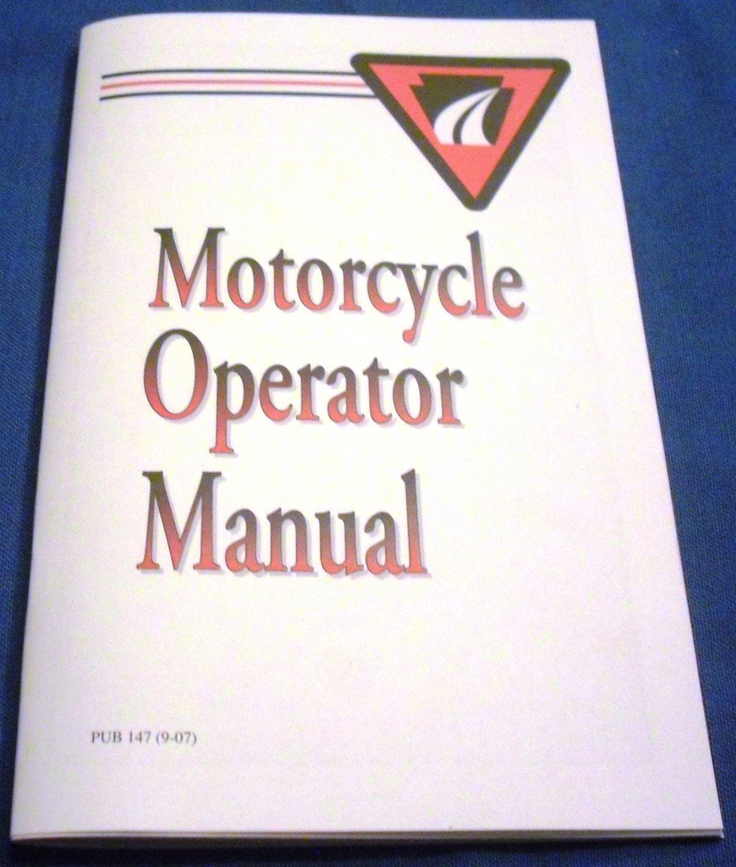 Pennsylvania Motorcycle Operator Manual PUB 147 (9-07) PennDOT
