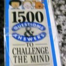 Brain Quest: 1500 Questions and Answers to Challenge the Mind/5th Grade 1992 by C W Feder