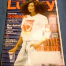 Lucky Magazine August 2014 - Solange
