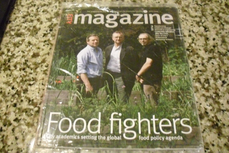 City Magazine Alumni City University London 2014 Issue, Food Fighters