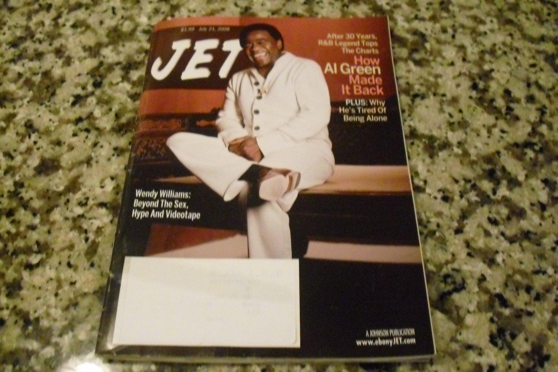 Jet Magazine July 21, 2008 Al Green Rhythm & Blues Legend of 30 Years!