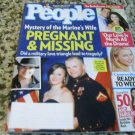 People Magazine August 11, 2014 Pregnant and Missing