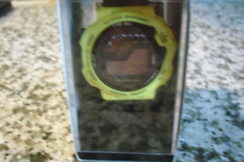 PK 2001 Sports Watch- Yellow and black