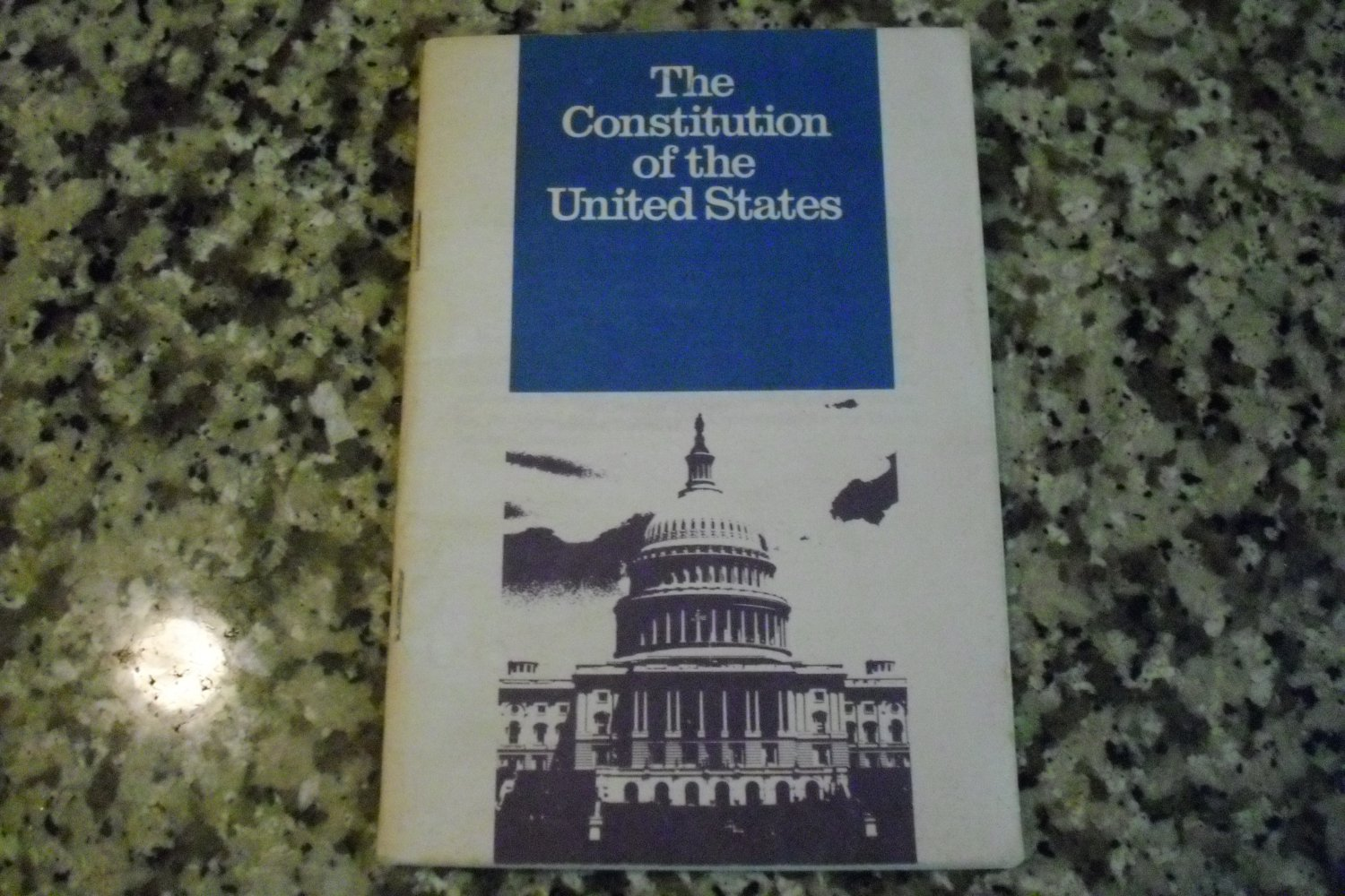 Pocket sized Constitution of the United States