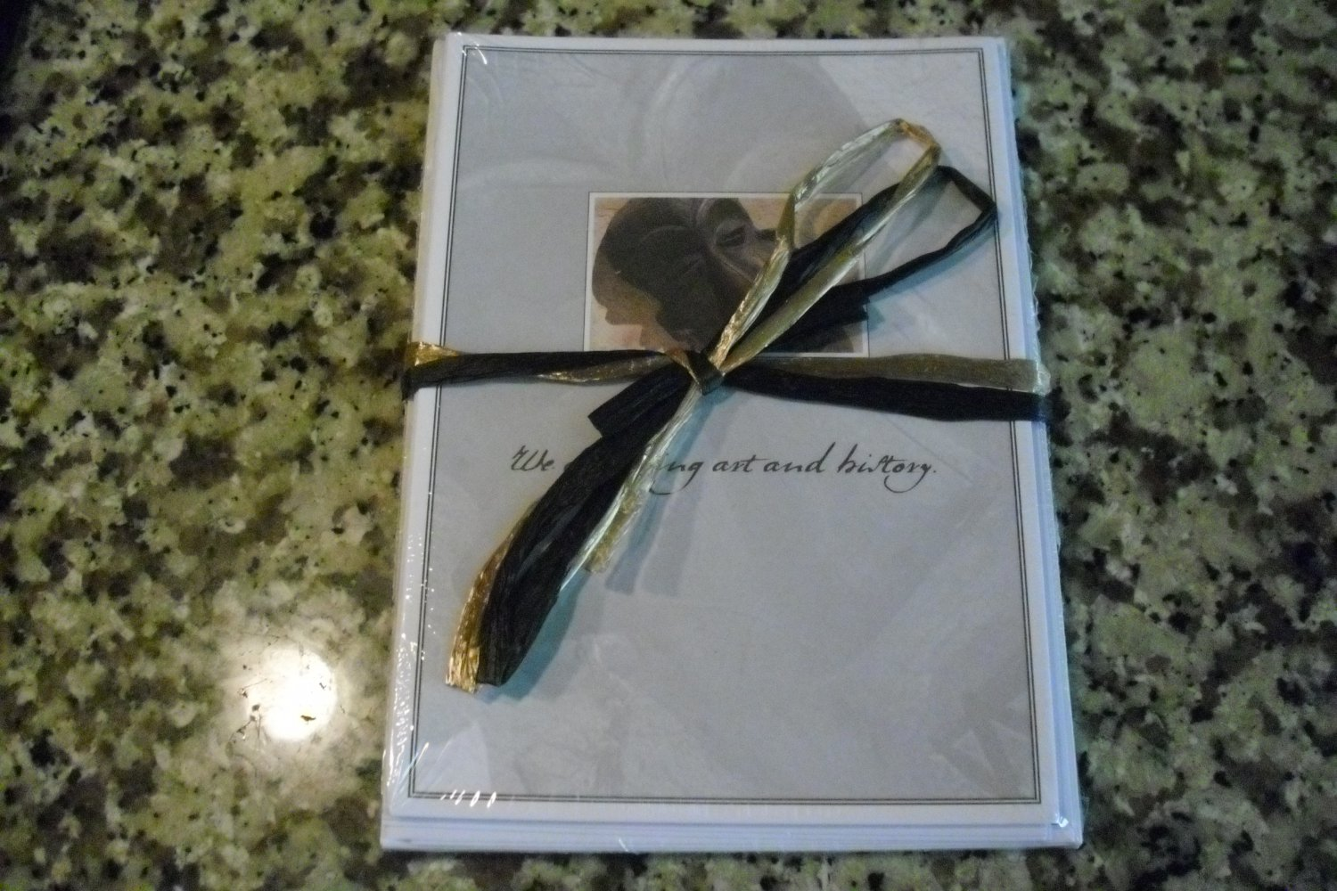 African-American Stationery Cards with envelope- 8 pieces