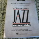 Easy Jazz Favorites - Alto Sax 1 (Easy Jazz Ensemble Series) Paperback – 1998