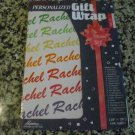 "Personalized Gift Wrap - Rachel 20"" x 28"" One sheet"