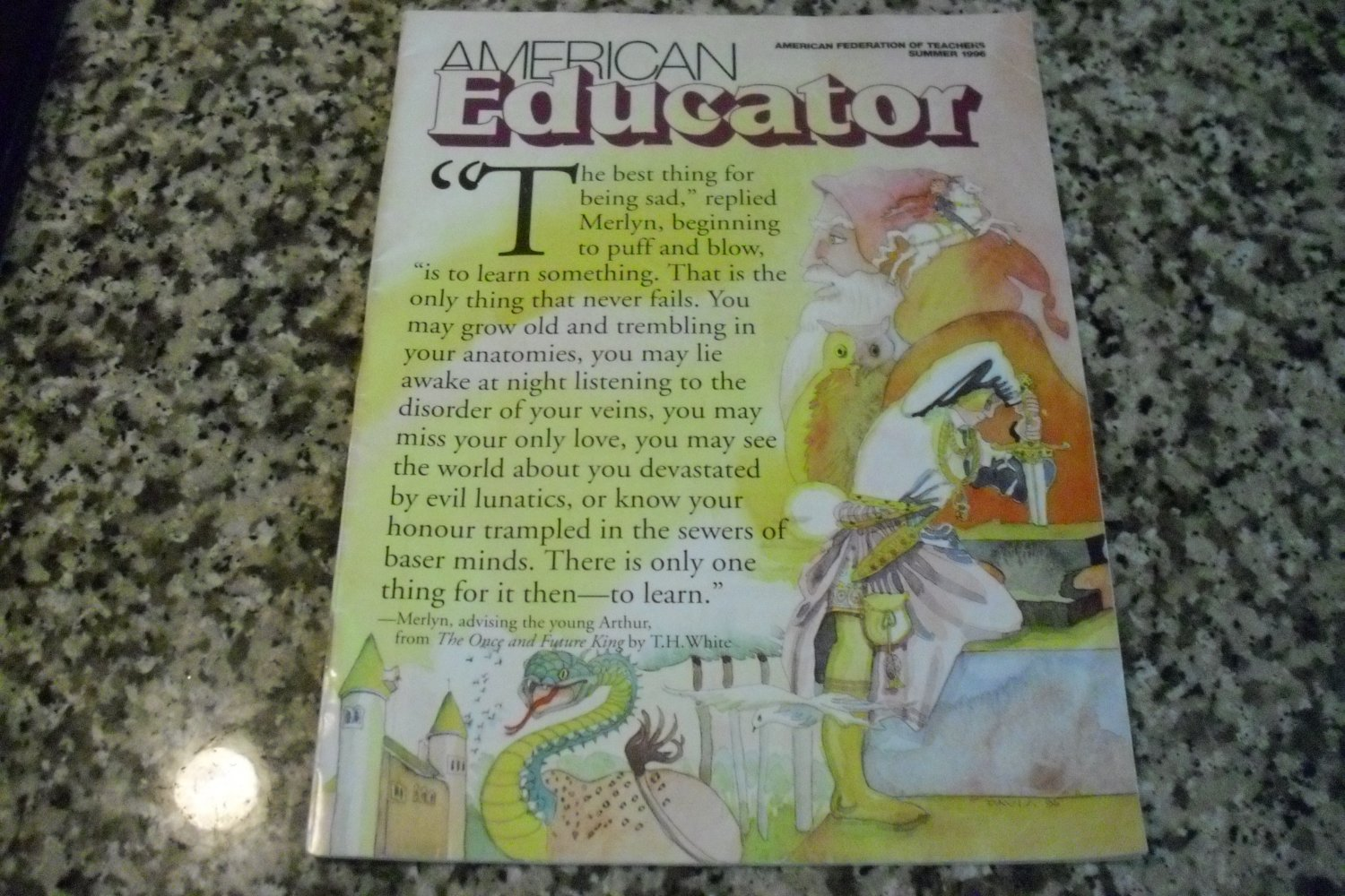 American Educator The National Publication of the AFT Summer 1996-2010 Vol 20, No. 2