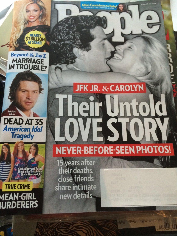 People Magazine August 18, 2014 JFK Jr. & Carolyn