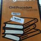 Legalines: Civil Procedure: Adaptable to Course Utilizing Materials By Louisell  (1979)