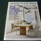 Architectural Digest Magazine January 2015 Great Design Issue