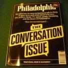 Philadelphia Magazine November 2014 Conversation Issue