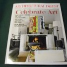 Architectural Digest Magazine December 2014 Celebrate Art