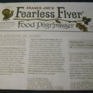 Trader Joe's Fearless Flyer Catalog November 2014 Vol. 8 No. 1