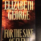 Inspector Lynley: For the Sake of Elena by Elizabeth George (1993, Paperback)
